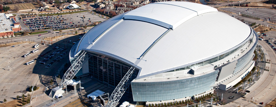 Minnesota structural engineering association slider banner Uni-Systems Dallas Cowboys Roof
